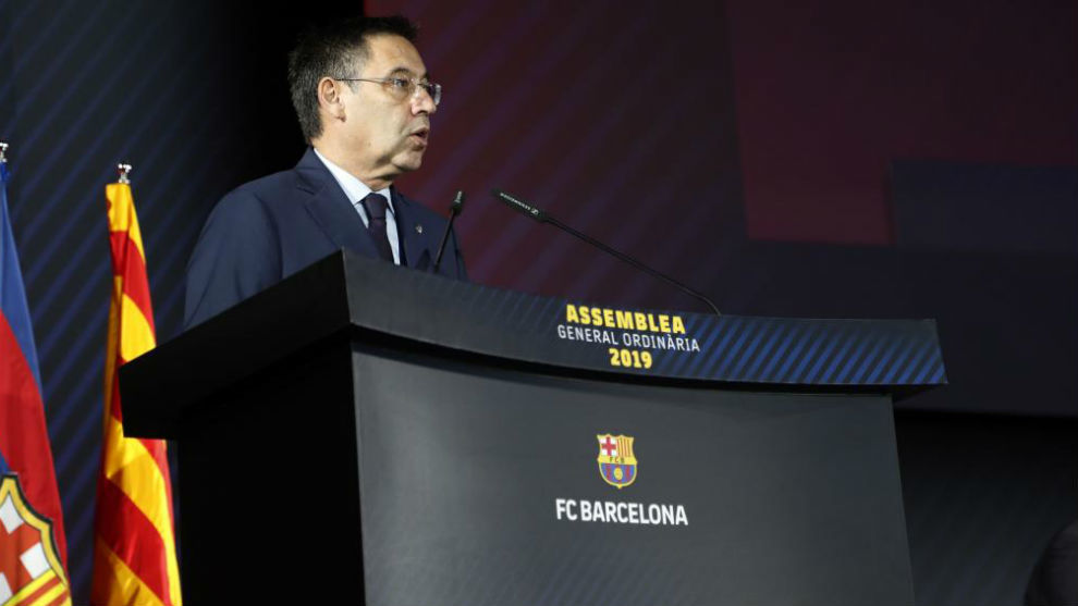 Según SER, Barcelona contrató una empresa para defender a Bartomeu.