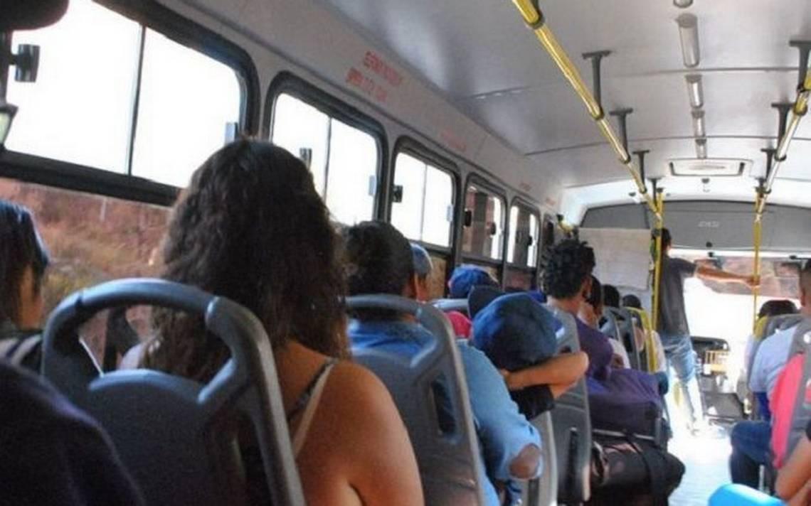 Asaltantes a usuarios del transporte:  Te vengo a robar, no te vengo a pedir, vea el video