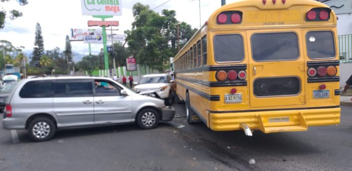 Accidente vial.