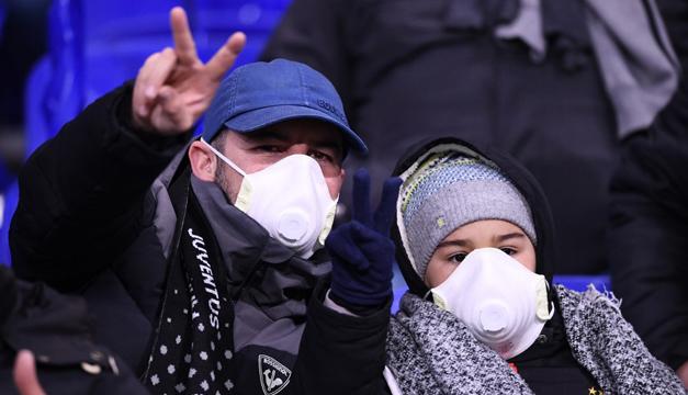 Juventus-Inter y otros cuatro partidos aplazados en Italia por coronavirus