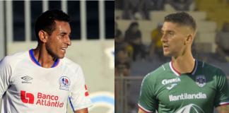 Los argentinos, Cristian Maidana y Esteban Espíndola, se encararon en el partido del pasado domingo.