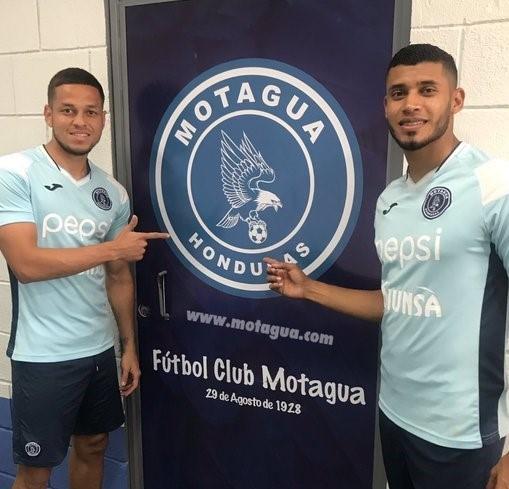 Marcelo Pereira y Marcelo Santos renuevan con Motagua