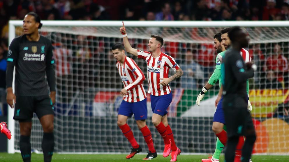 Atlético de Madrid vence al Liverpool y lleva la ventaja a Anfield
