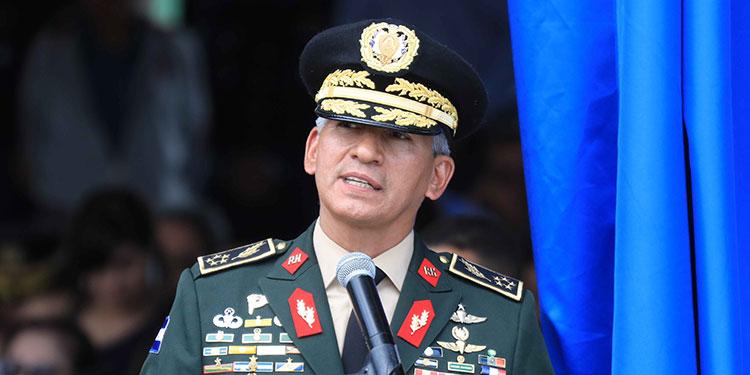 """General Livio Moreno """"Los delincuentes van a ser capturados, no crean que van a jugar con el Estado de Honduras"""""""