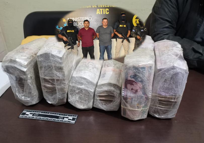 """A """"La Tolva"""" envían a dos hondureños arrestados con más de tres millones de lempiras"""