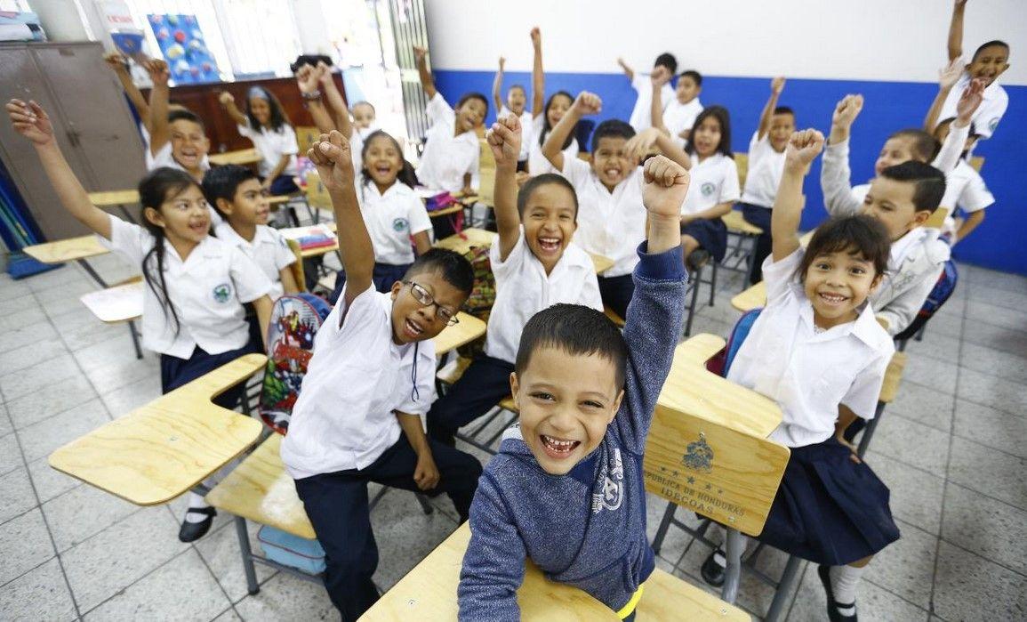 Sistema escolar en Honduras.