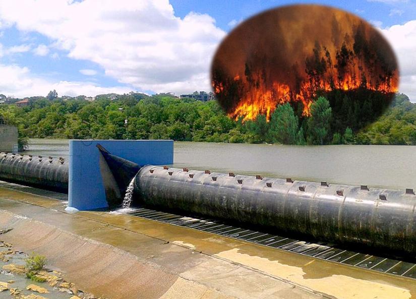 Represas incendios