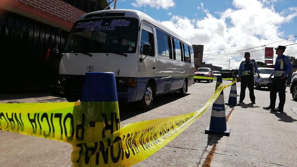 La crónica violencia criminal en el sector del transporte