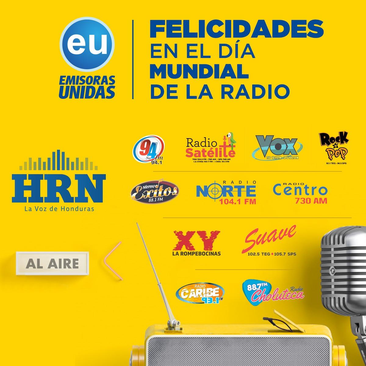 Emisoras Unidas celebra el Día Mundial de la Radio este 13 de febrero