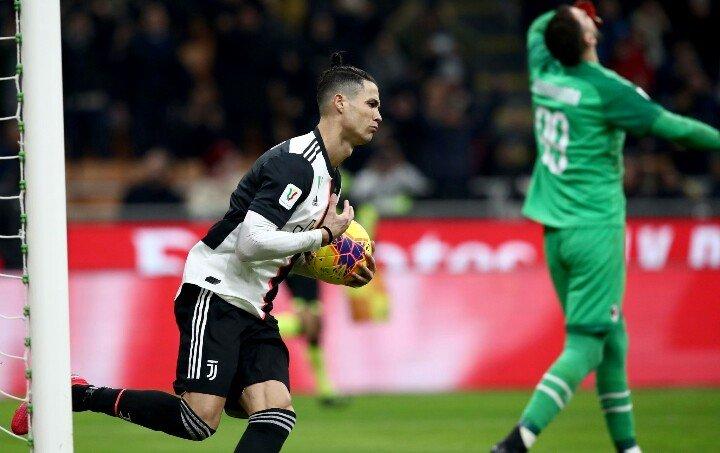 Cristiano con su gol al 90+1' salvó a la Juventus de la derrota.