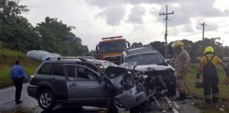 Muertos en accidentes