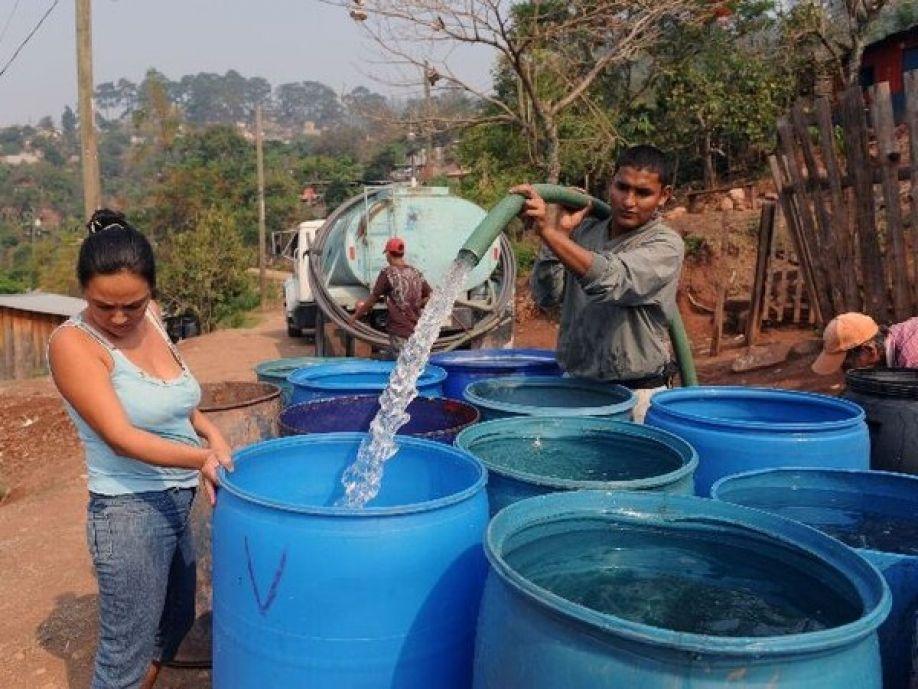 barril de agua