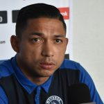 Emilio Izaguirre habló antes de viajar a San Pedro Sula.