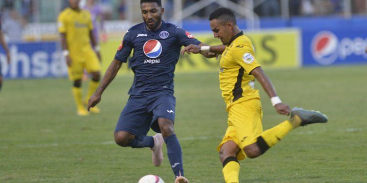 Motagua anota un gol y vence al Real España