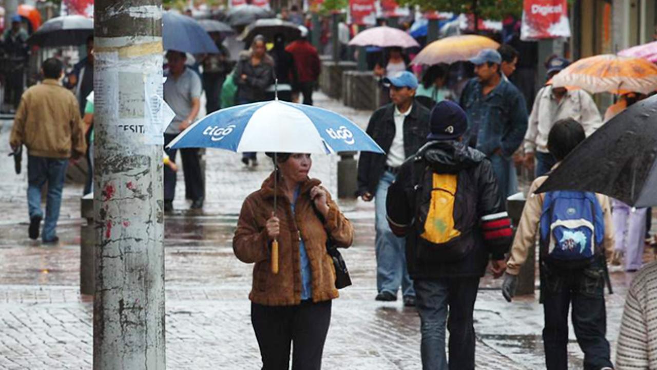 Masa de aire frío generará lluvias, bajas temperaturas y oleaje alterado en Honduras