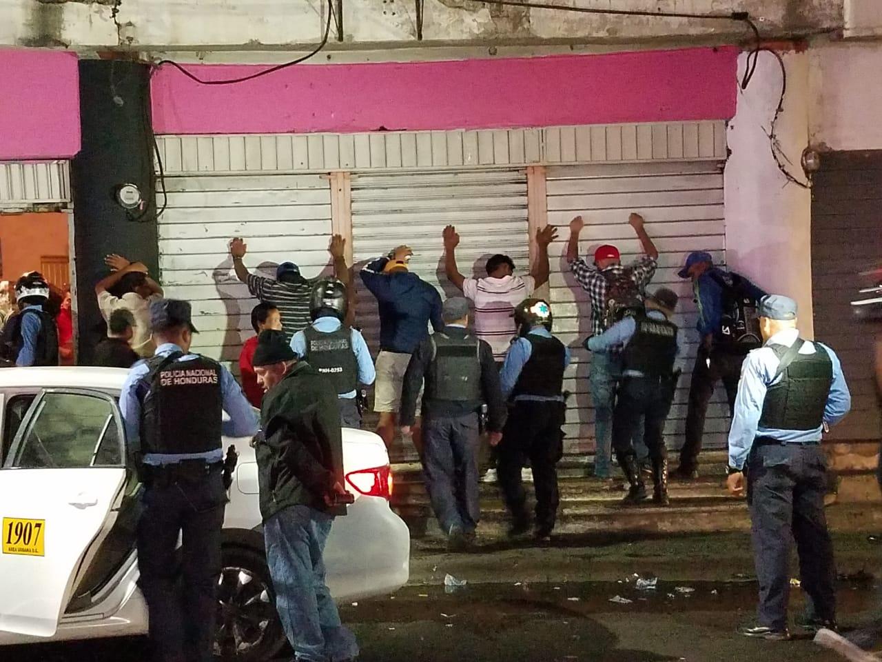 Detenciones en la capital.