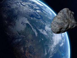 Asteroide impactar planeta tierra.