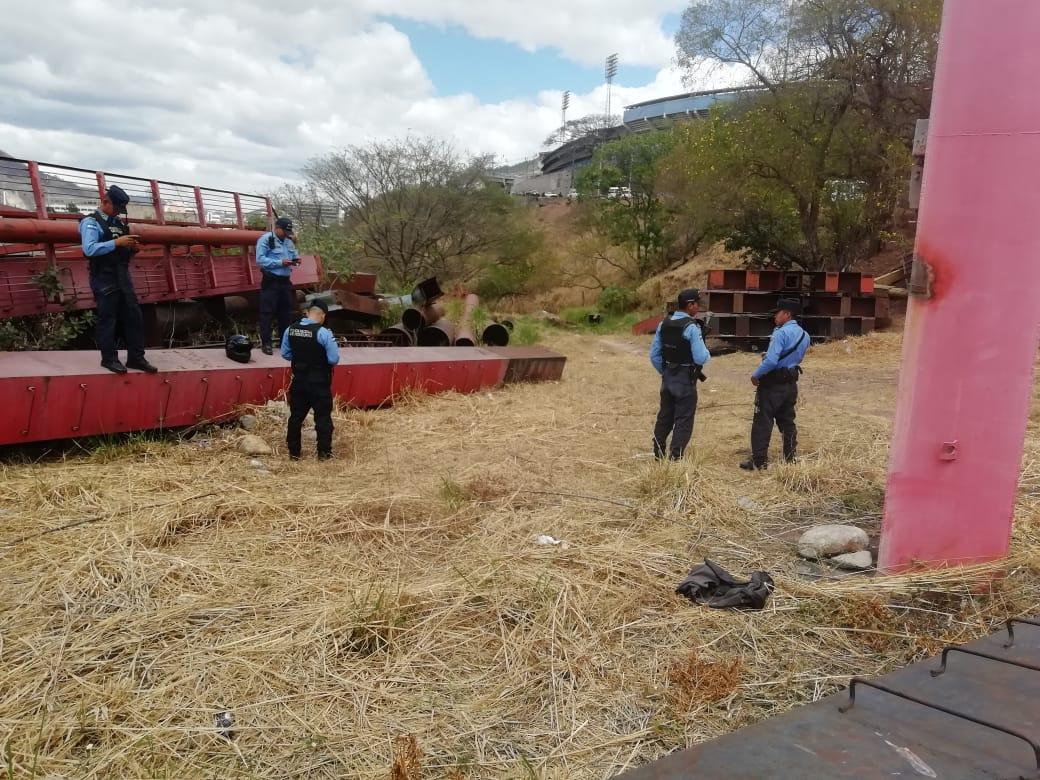 Encuentran calcinado el cuerpo de una mujer en Tegucigalpa