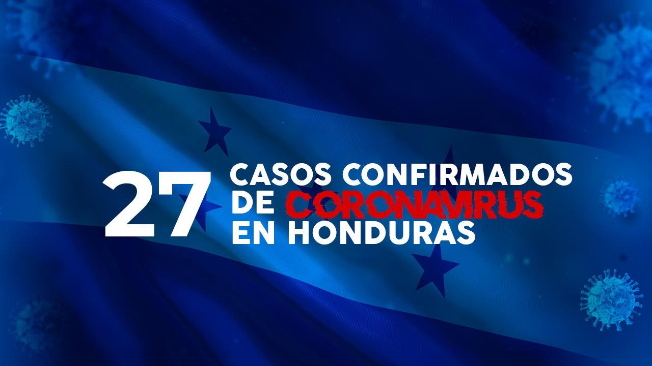 Coronavirus: Honduras confirma un nuevo caso y se eleva a 27 el número de contagiados por covid-19