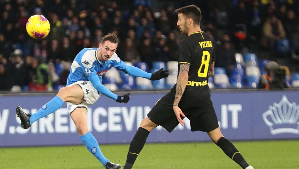 Aplazado el partido Nápoles-Inter de la Copa de Italia por temor al coronavirus