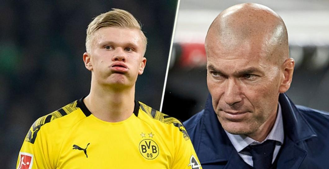 Zidane pide a Haaland y no a Mané