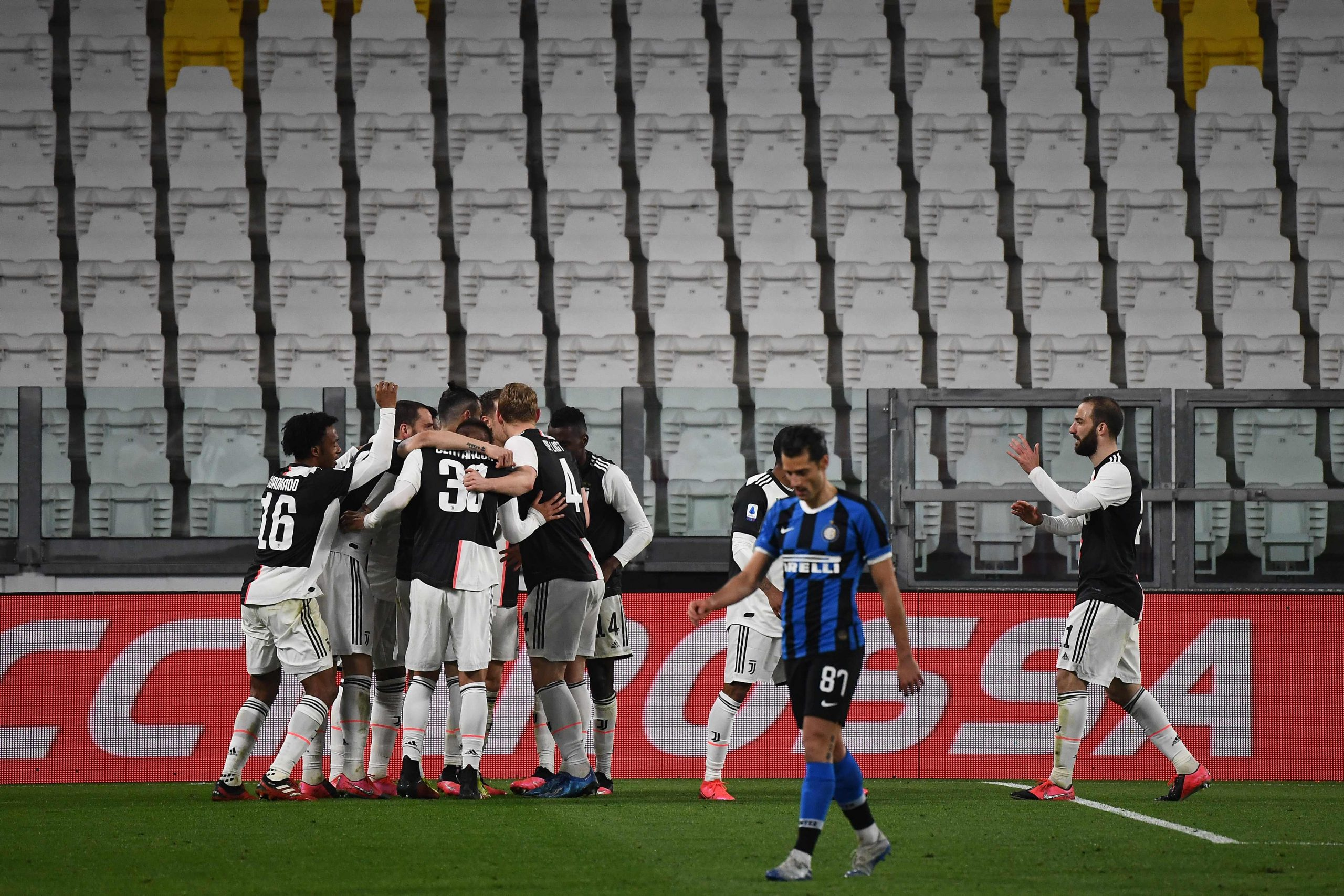 La Serie A está suspendida desde el 9 de marzo debido al coronavirus.