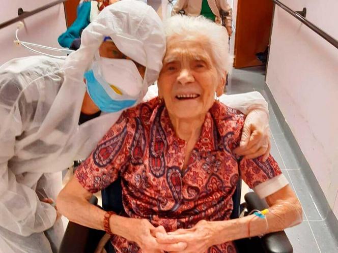 "Coronavirus: abuelita de 104 recuperada por covid-19 aconseja tener ""fe, valor y esperanza"""