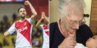 Cesc Fàbregas comunicó a través de sus redes sociales que su bisabuela de 95 años pudo superar el coronavirus.