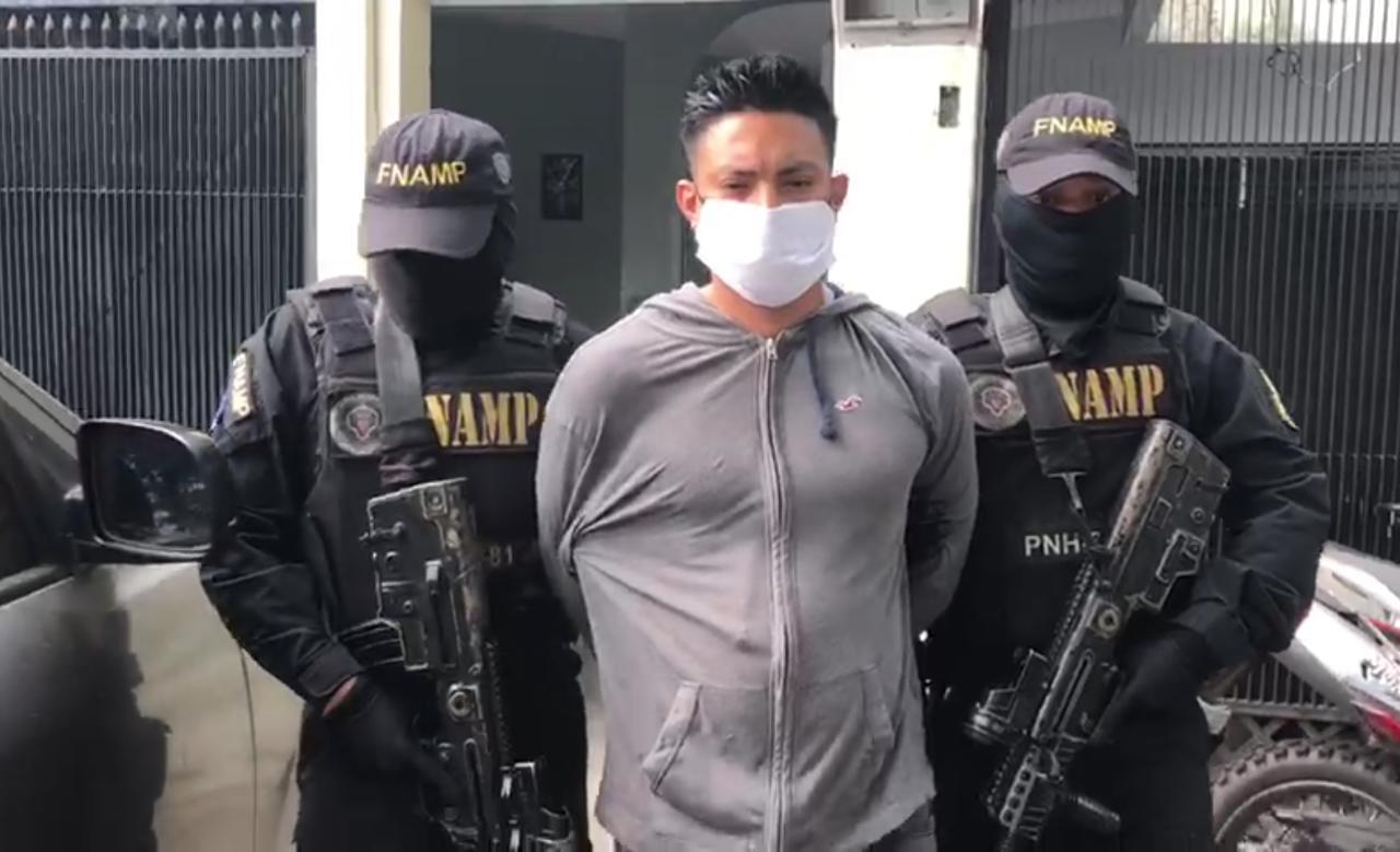 Capturan en Cortés al jefe del programa de extorsión de la MS-13