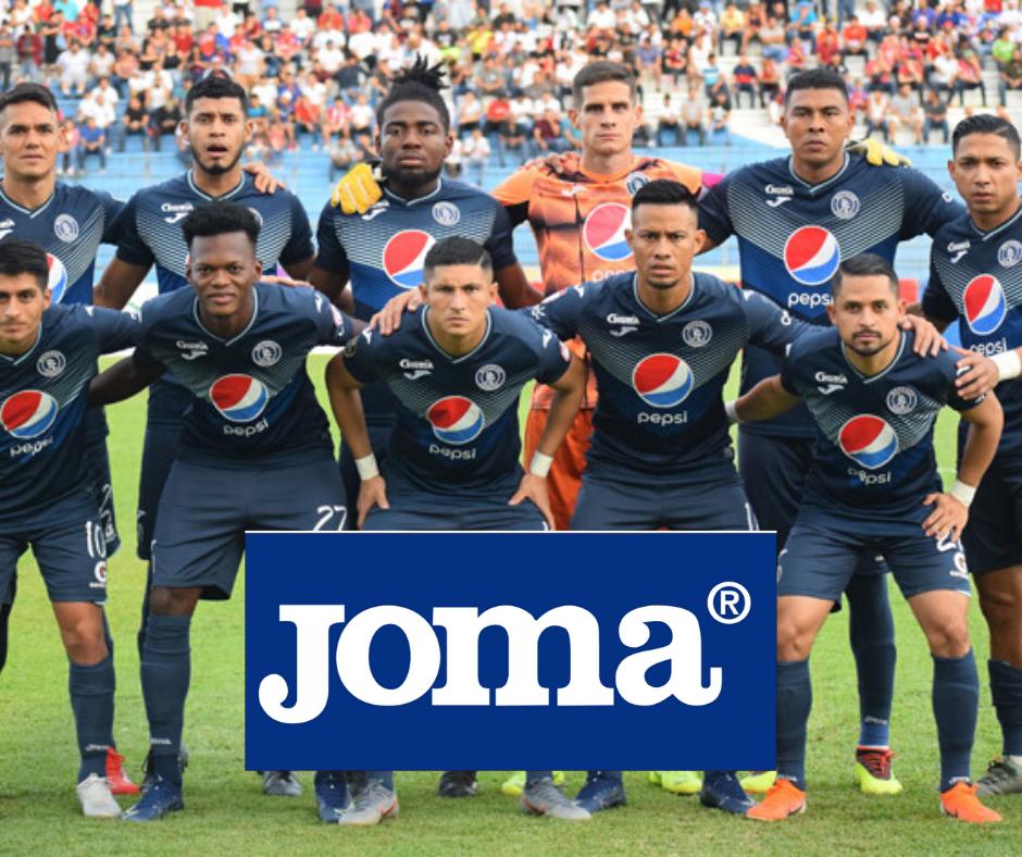 Joma es patrocinador de Motagua, Real España y Marathón.