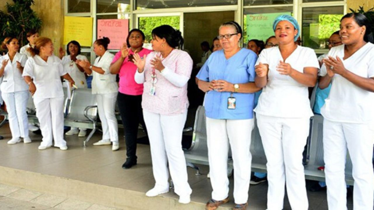 Coronavirus: Unas 25 enfermeras dan negativo de covid-19 en Honduras