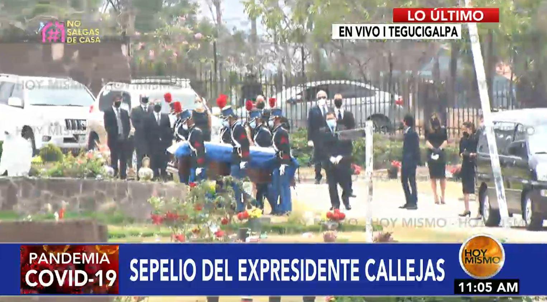 Fallece expresidente Callejas.