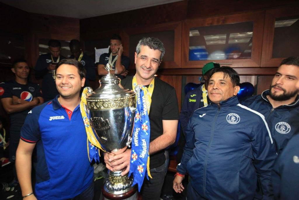 Motagua es líder del actual torneo con 27 puntos. / Foto: La Prensa