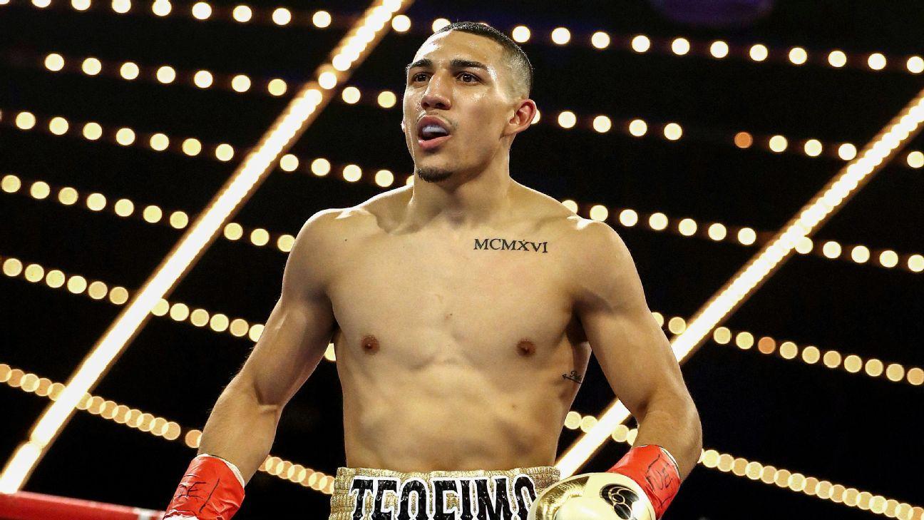 Teófimo López es el campeón mundial de peso ligero de la FIB.
