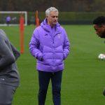 El Tottenham de Inglaterra volvió a entrenarse bajo la dirección de José Mourinho.