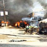 Camión en Siria