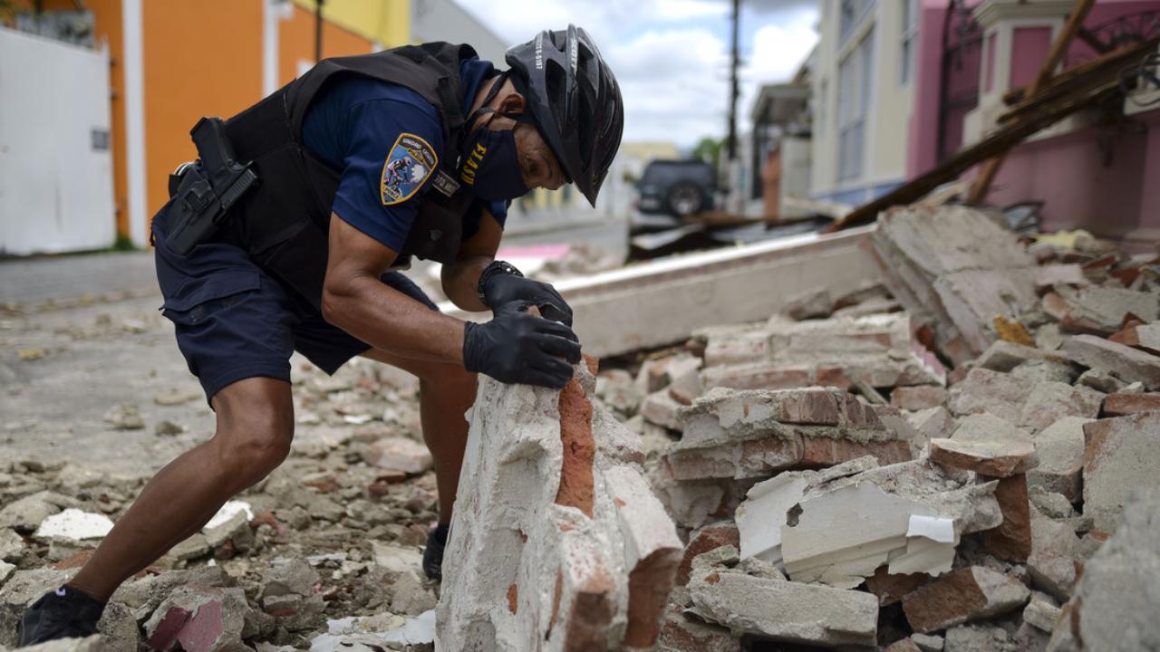 Sismo de magnitud 5.4 sacude el sur de Puerto Rico en medio del confinamiento por el covid-19