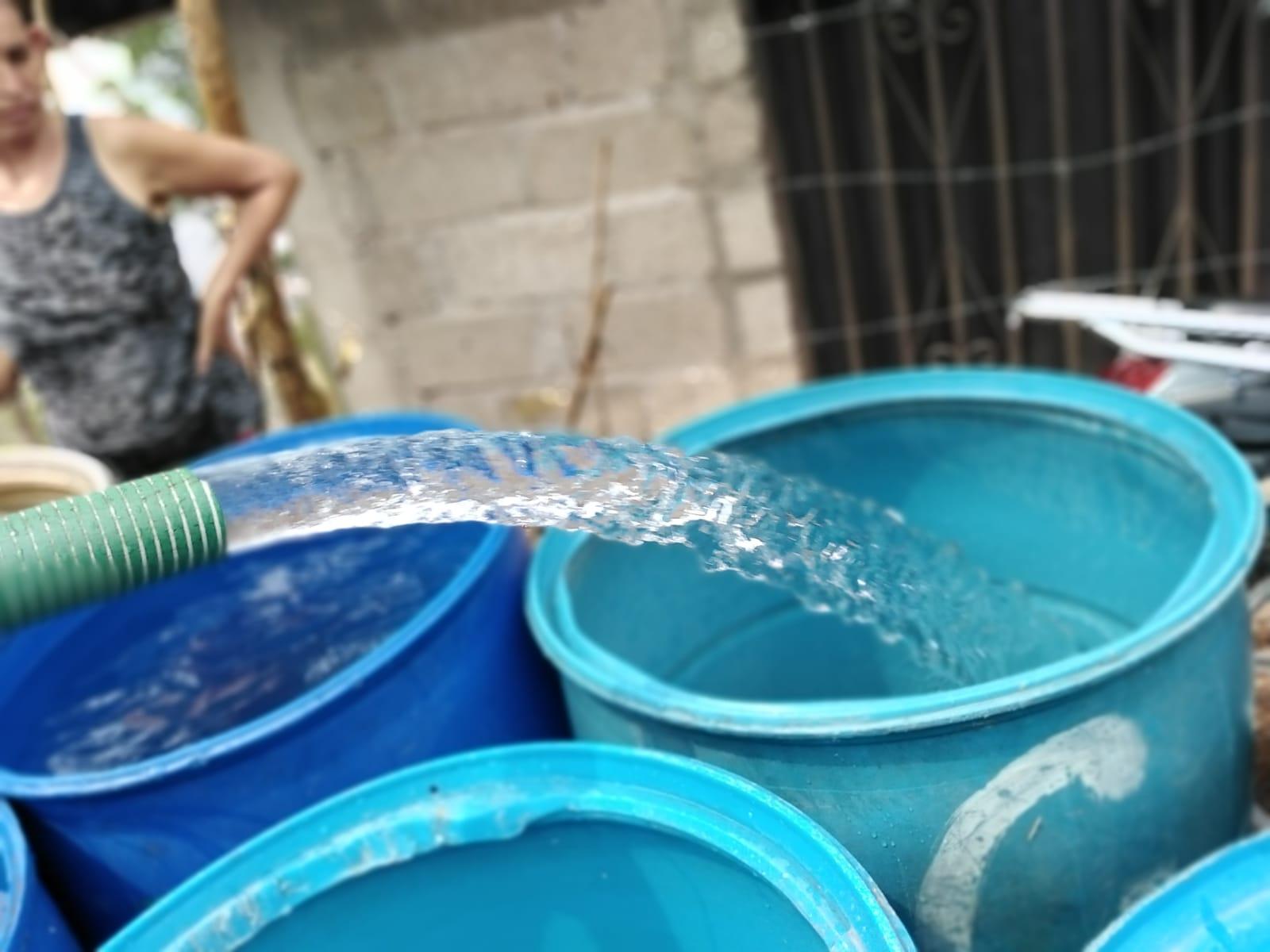 Barrios y colonias de la capital que recibirán agua potable gratis este 4 de mayo