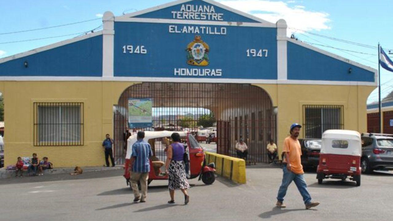 Cierran temporalmente la aduana de El Amatillo por casos de covid-19