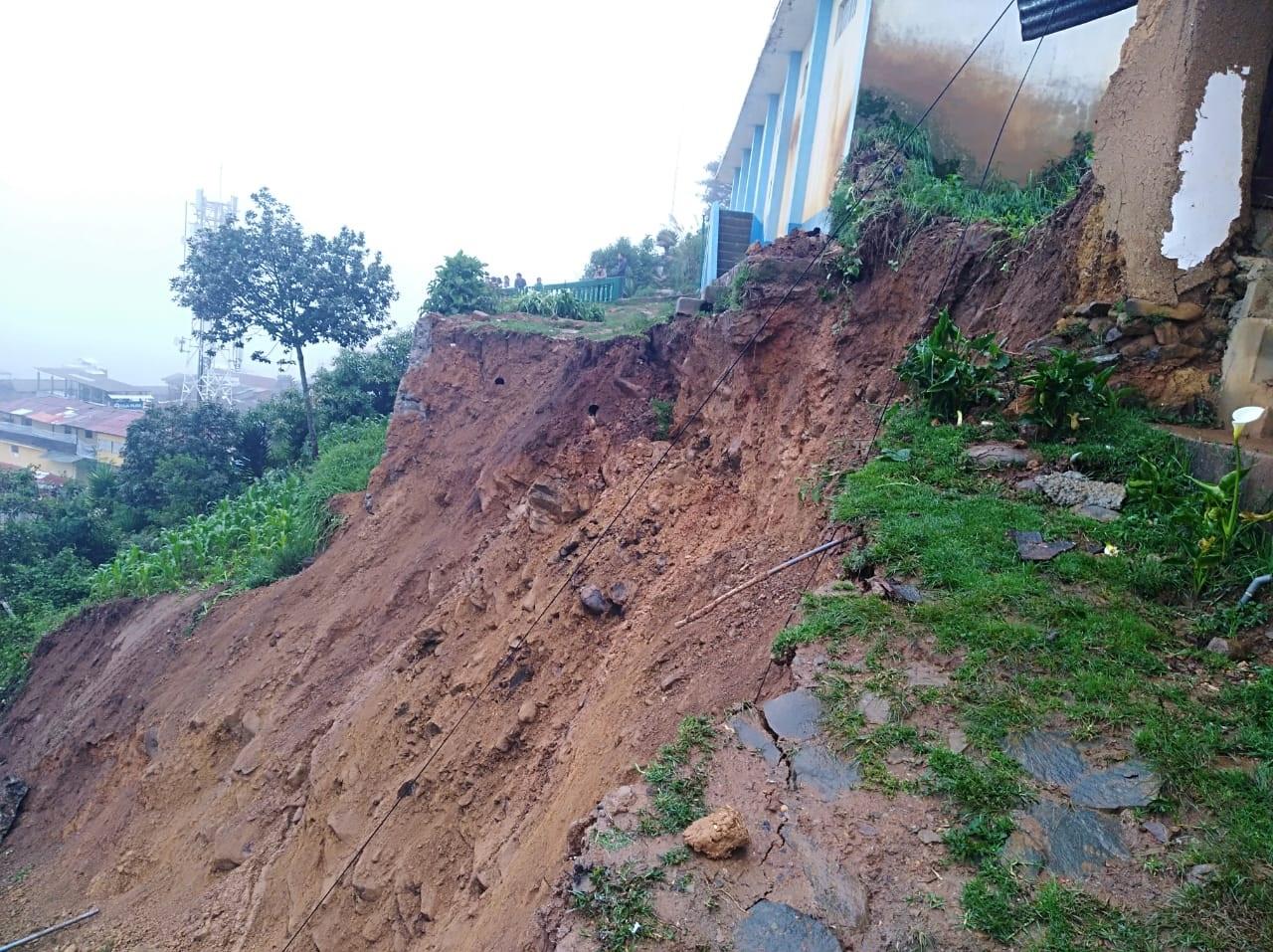 En Alerta Verde 10 departamentos del país por riesgo de deslizamiento