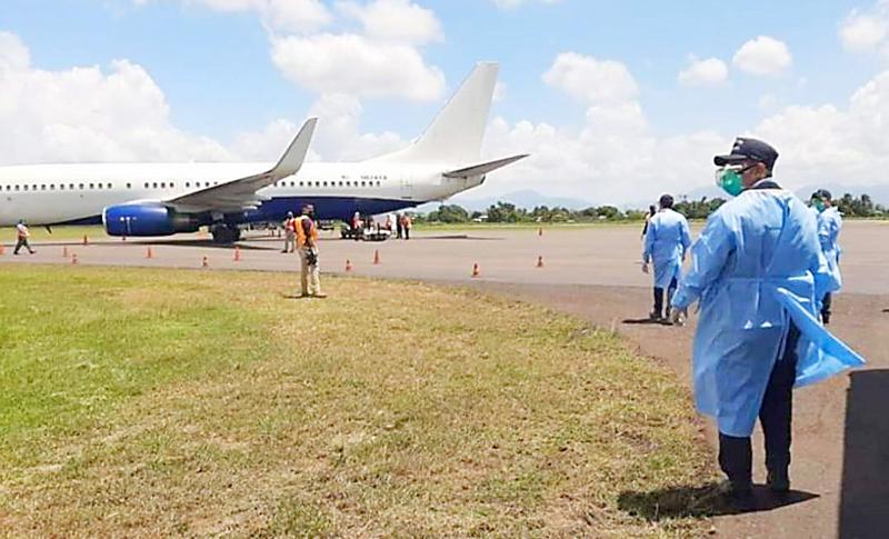 Más de 3,300  hondureños han sido repatriados de Estados Unidos desde la emergencia por el coronavirus