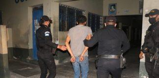Hondureño detenido en Guatemala.