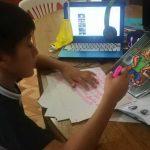 Niño en clases desde casa- Foto Radio Karibeña
