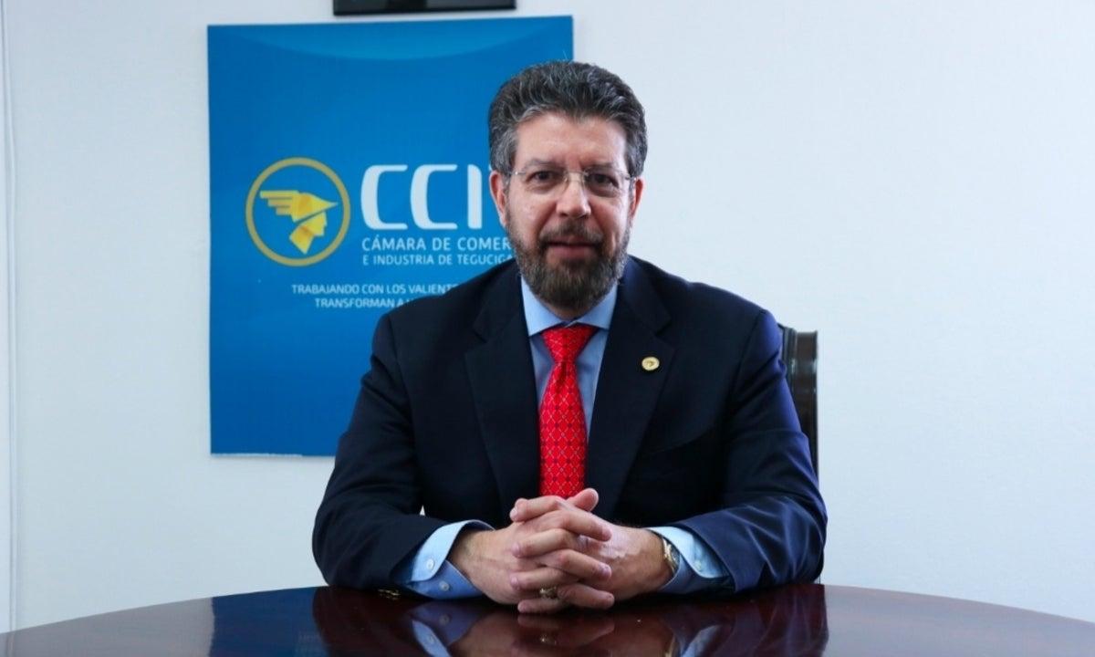 Presidente de la CCIT. Foto Diairo Roatan