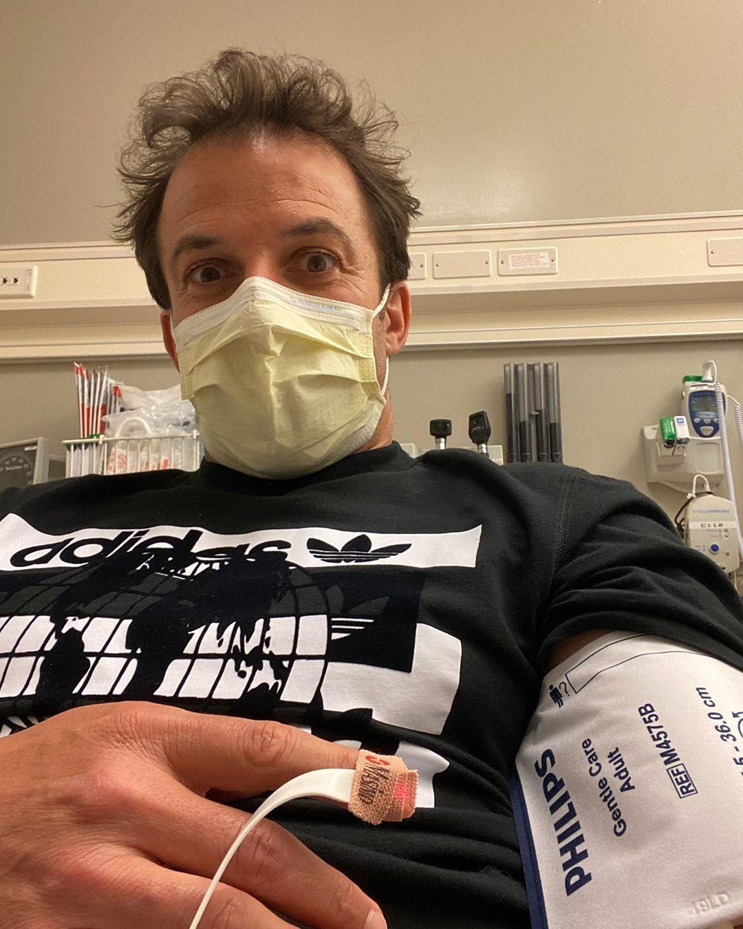 Del Piero, internado de emergencia
