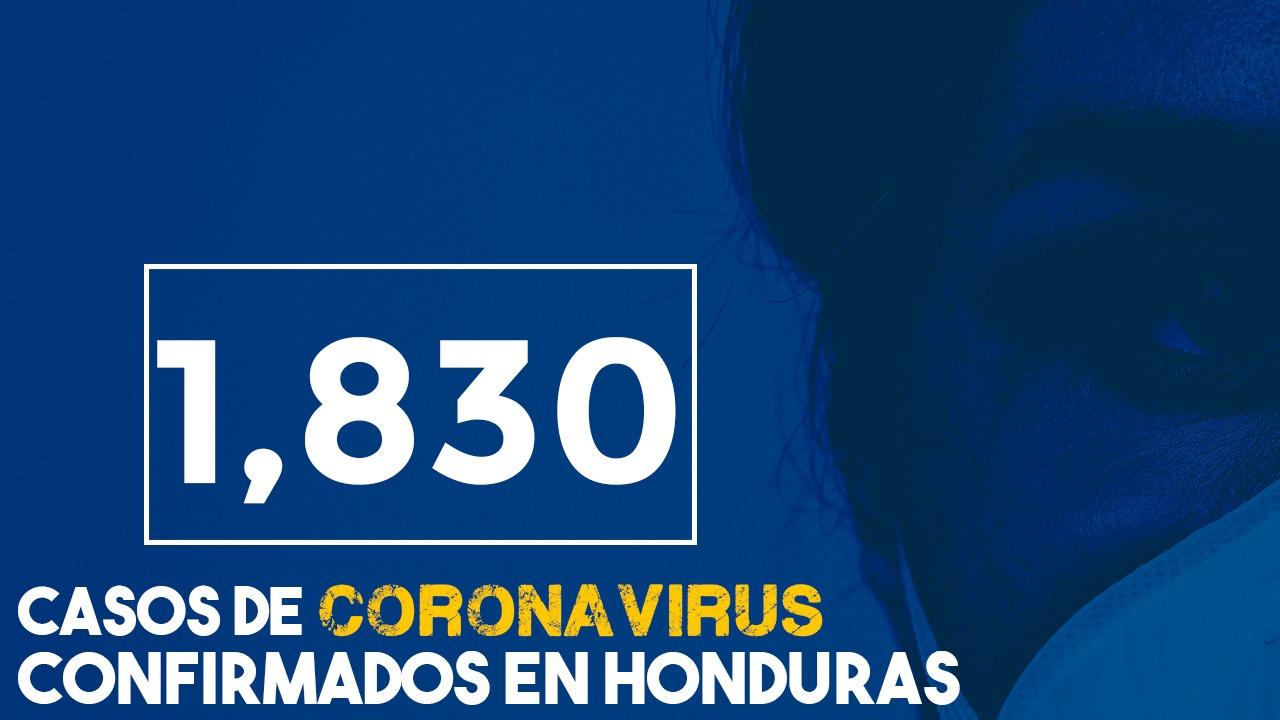108 muertos y 1,830 contagios, las alarmantes cifras de covid-19 en Honduras