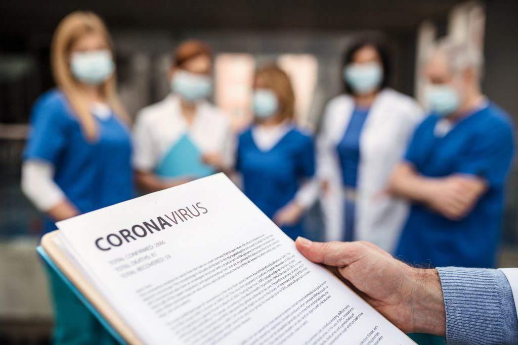A 54 aumenta cifra de enfermeras con coronavirus en Honduras