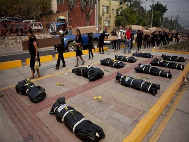 Hasta 40 años de cárcel para quien asesine a una mujer en Honduras