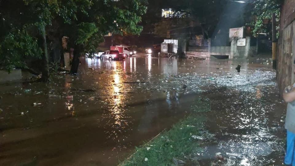 Muertos, inundaciones y más de 100 familias afectadas por las lluvias en Honduras
