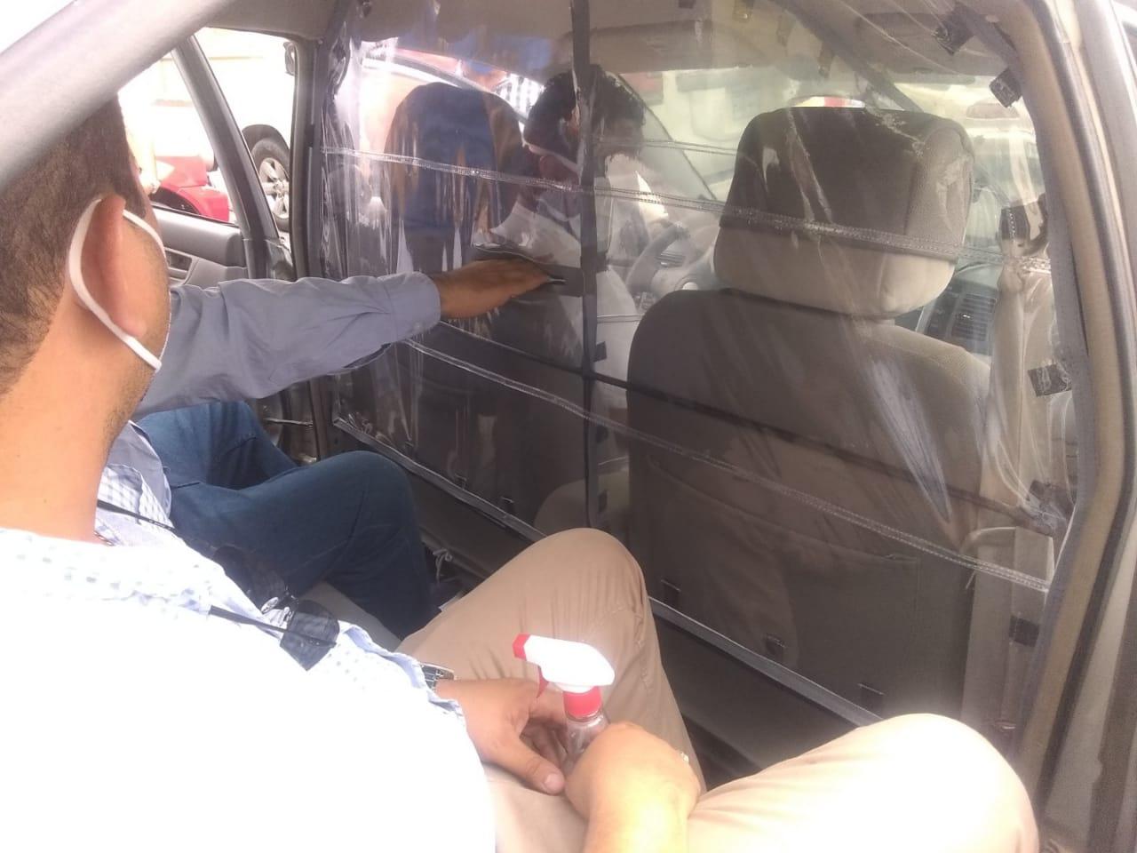 Conductores de taxis